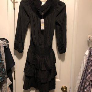 Michael Kors Black Off the Shoulder Dress